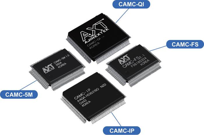 아진엑스텍이 개발해 출시한 다양한 모션제어 칩