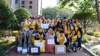시스원, `애덕의 집' 38주년 개원기념 행사 봉사활동 참여