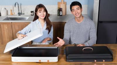 삼성전자, 슬림 2구 인덕션 '더 플레이트' 출시