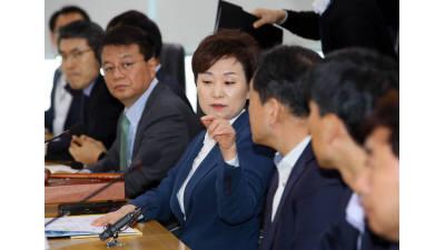 김현미 국토교통부 장관, 분양가관리 회피시도 확인되면 분양가상한제 적용 추가 지정
