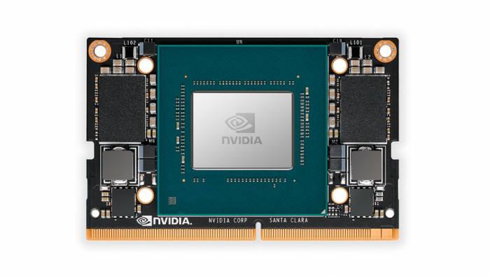 엔비디아의 초소형 AI 슈퍼컴퓨터 젯슨 자비에 NX. <사진=엔비디아>