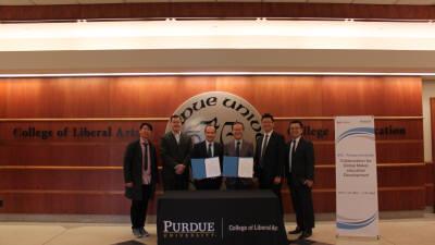 한국생산성본부-퍼듀대, \'에듀테크 센터\' 공동 설립 ... 글로벌 진출 육성 기지 마련
