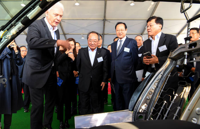 현대·기아자동차가 지난 6일부터 8일까지 경기 화성 현대·기아차 남양연구소에서 2019 R&D 협력사 테크 페스티벌을 개최했다.