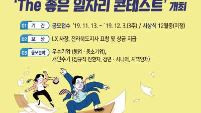 {htmlspecialchars(LX·전북도 'The 좋은 일자리 콘테스트' 개최)}