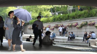 5월초 서울 평균기온, 8년 만에 최고