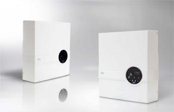 이프리시스템의 태양광 인버터 제품 라비아 디자인.