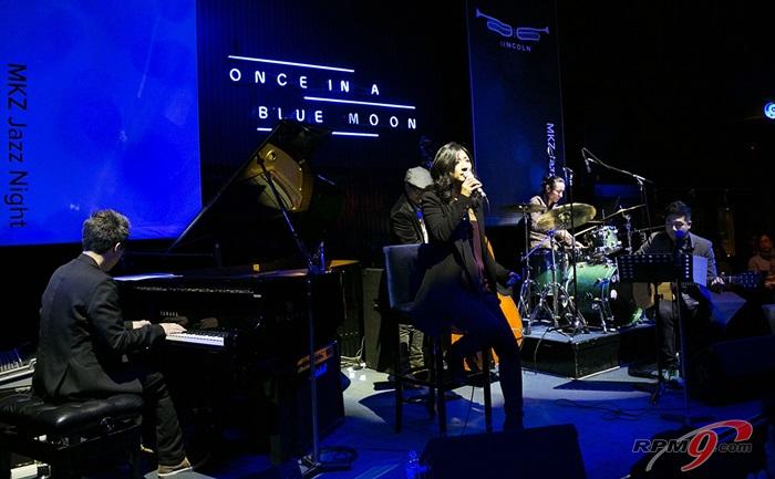 포드가 마련한 'MKZ Jazz Night'에서 재즈디바 말로(Malo)와 재즈보컬리스트 차은주가 무대를 꾸몄다.(사진=포드세일즈서비스코리아)