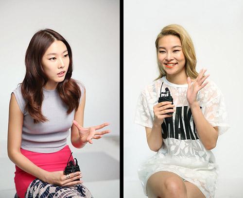 """패션 모델 한혜진·송해나, """"위메프에서 패션 상품 구입해요"""""""
