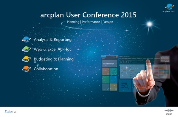 arcplan User Conference 2015, 성황리에 개최