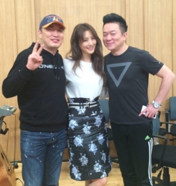 컬투쇼 수현<br />출처:/ 수현 SNS