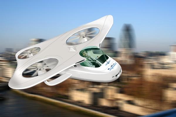 유럽이 개발을 추진중인 개인 통근용 로봇헬리콥터 마이콥터. 사진=EU프로젝트