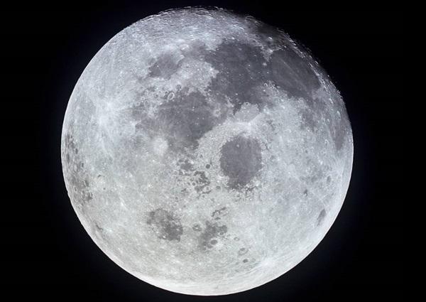 아폴로 11호가 촬영한 달의 모습. 사진=나사