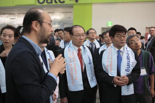 유비온, 이러닝 코리아서 '플립러닝' 스마트 클래스 시연