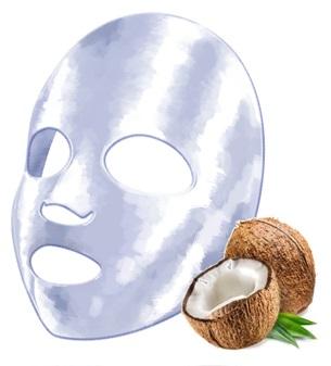 이지코스텍의 코코넛 천연유래 마스크 시트 바이오-셀룰로오스(Bio-Cellulose).