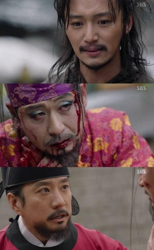 육룡이 나르샤 출처:/SBS '육룡이 나르샤' 방송 캡처