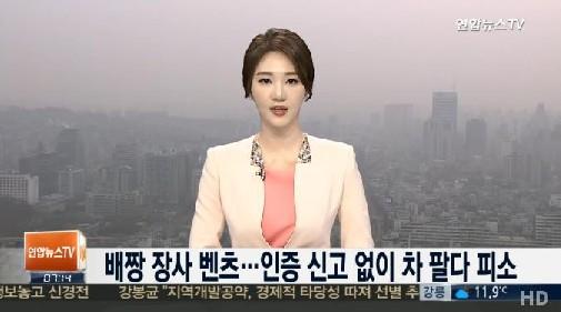 국토부, 벤츠 검찰 고발<br />출처:/연합뉴스TV 화면 캡처