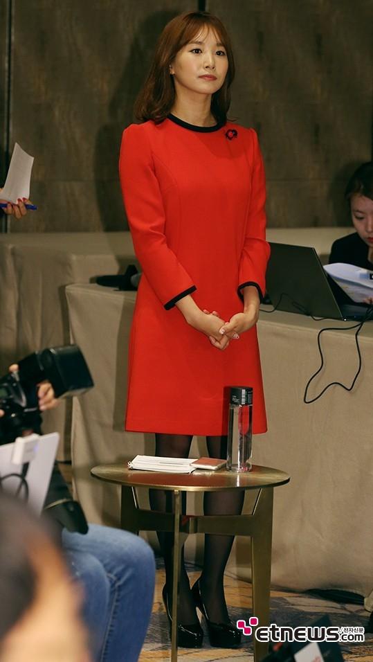 [포토] 김선신 아나, '단아한 자태'