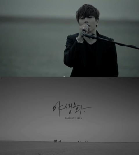 사진=박효신 '야생화' 뮤직비디오 한 장면