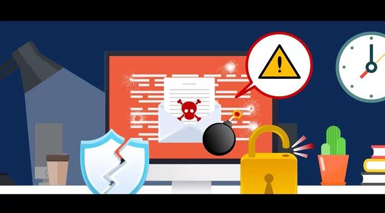 [모션그래픽] 겹겹 쌓은 보안에도 뚫리는 랜섬웨어, APT 공격 최선의 방법은?