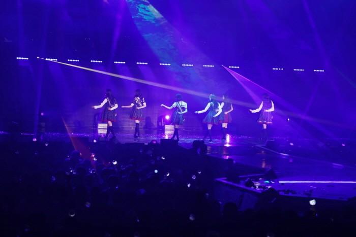 걸그룹 여자친구가 지난 6일부터 7일까지 서울 송파구 서울 송파구 올림픽공원 올림픽홀에서 데뷔 첫 단독콘서트 'Season of GFRIEND'를 개최했다. (사진=소스뮤직 제공)