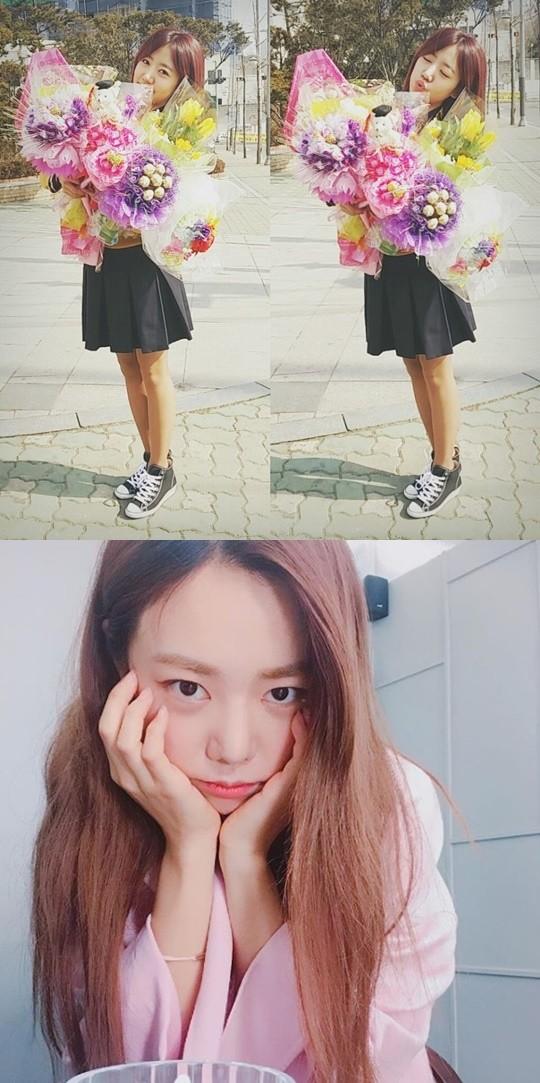 사진=에이큐브엔터테인먼트, 김남주 SNS