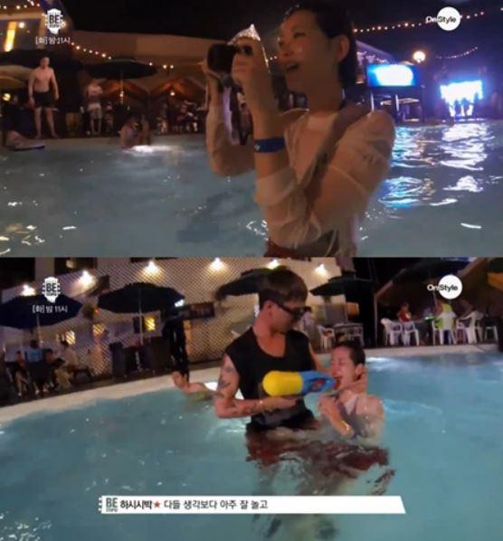 사진=배우 봉태규의 아내인 하시시박에 대한 누리꾼들의 관심이 뜨겁다.