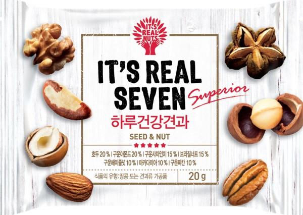 2회 연속 매진 '잇츠리얼세븐', 인기비결은 '브라질너트, 사차인치, 필리너트' 함유