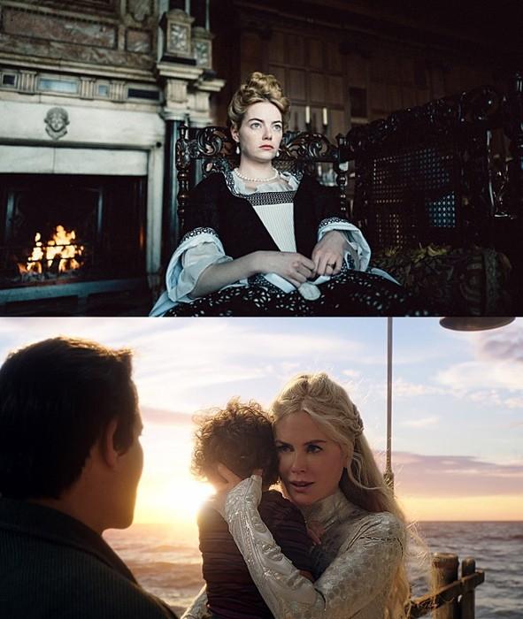 사진='더 페이버릿: 여왕의 여자' 스틸( 20세기폭스코리아), '아쿠아맨' 스틸(위너브라더스코리아)
