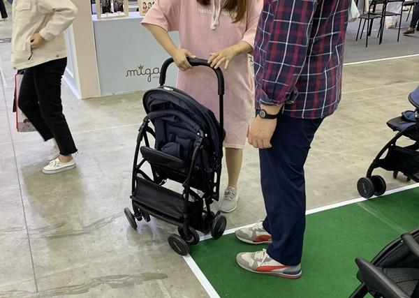 [인천 베이비&키즈페어] 엄마와 아이에게 최적화된 '미고 미니 플러스4' 유모차