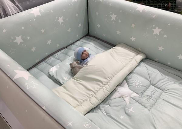 [인천 베이비&키즈페어] 롤베이비, 여름맞이 쿨매트와 범퍼 침대 소개