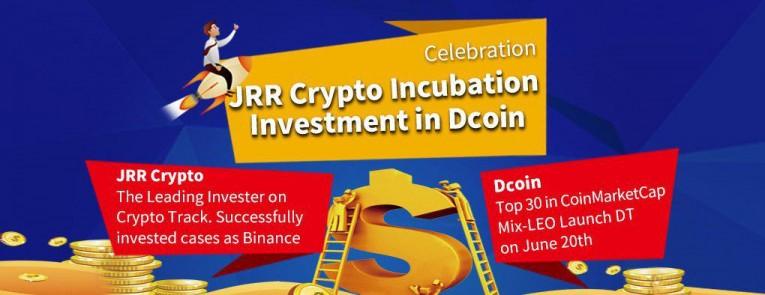 글로벌 거래소 Dcoin, 스위스 블록체인 투자 업체인 JRR Crypto 로부터 전략적 투자 유치