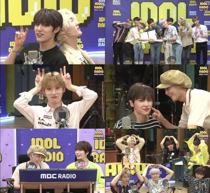 사진=MBC '아이돌라디오' V라이브 캡처