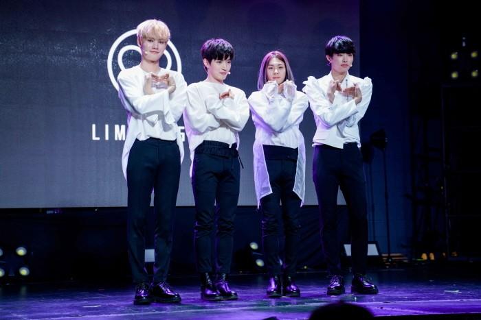 9일 서울 마포구 홍대무브홀에서는 보이그룹 'LIMITLESS(리미트리스)' 데뷔싱글 'DREAMPLAY(몽환극)' 발매기념 쇼케이스가 열렸다. (사진=ONO엔터테인먼트 제공)