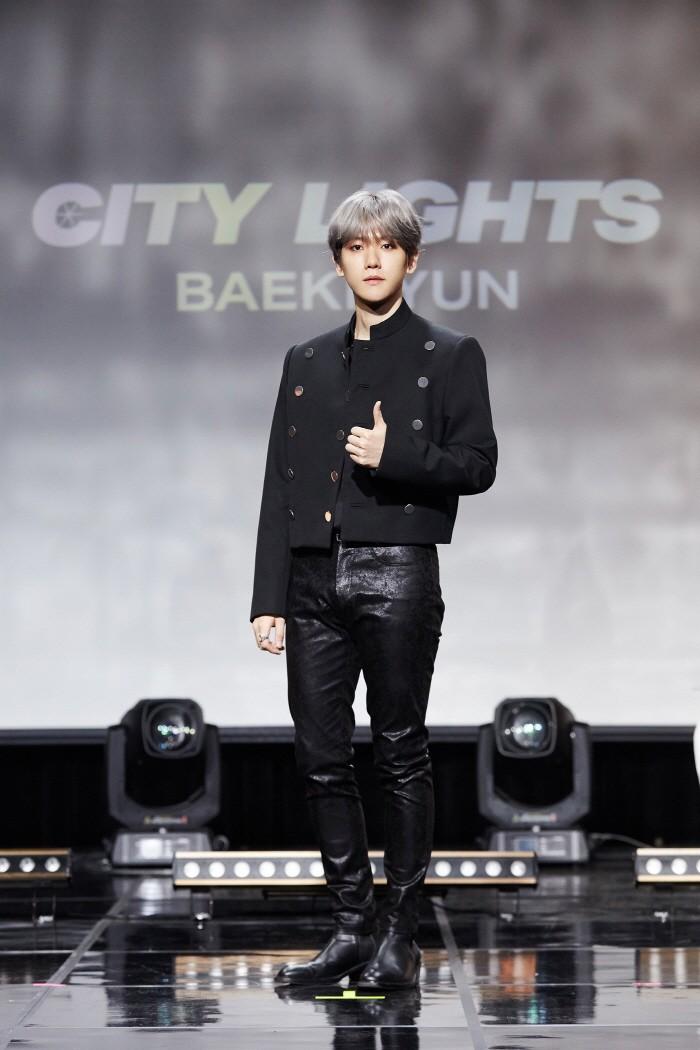 10일 서울 강남구 SAC아트홀에서는 엑소 백현의 첫 솔로앨범 'City Lights' 발매기념 쇼케이스가 열렸다. (사진=SM엔터테인먼트 제공)
