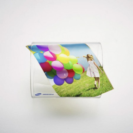 삼성디스플레이의 플렉시블 OLED (사진=삼성디스플레이)