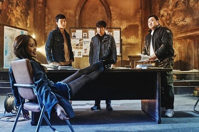 ▲사진 = 영화 '나쁜 녀석들: 더 무비' 스틸 | CJ엔터테인먼트 제공