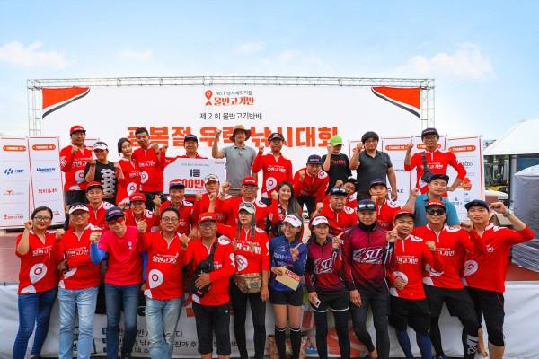 물반고기반, 인천 남항 우럭낚시대회 성료…참가자 910명 몰려