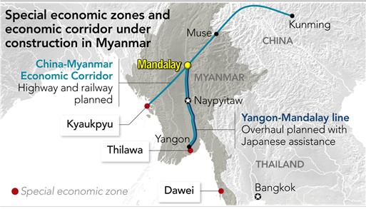 황금의 나라 미얀마...중심도시 만달레이에서 금맥캐는 ㈜아시아플러스