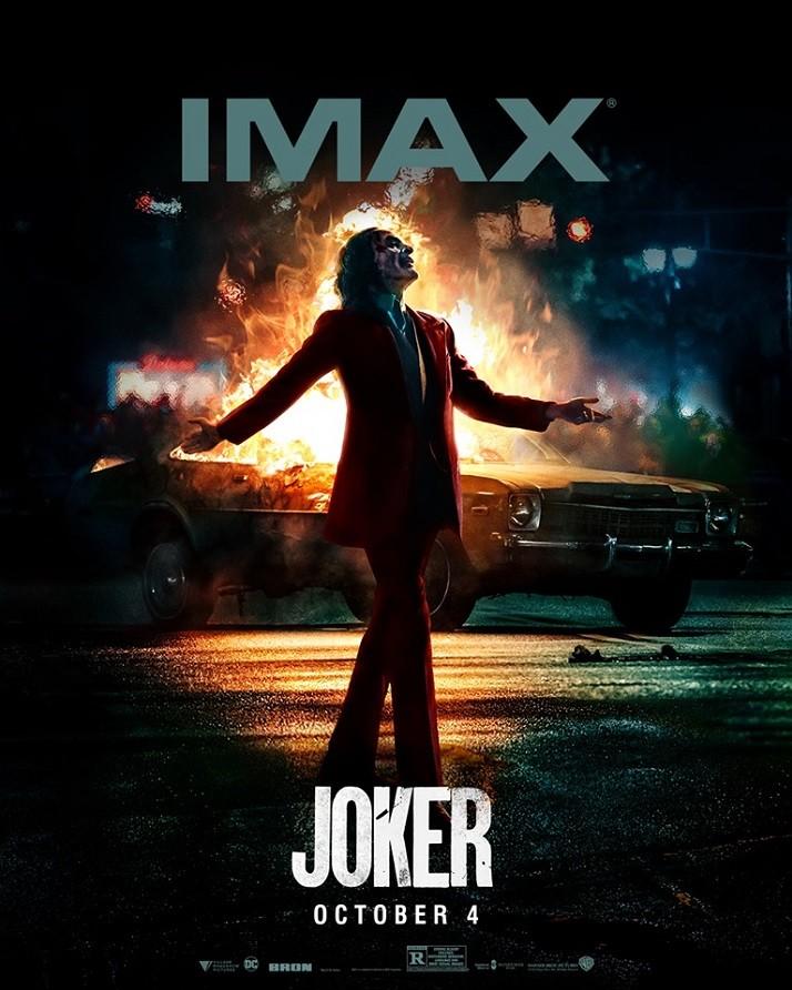 영화 '조커' 북미 IMAX 포스터. (사진 출처: IMAX 공식 페이스북)