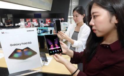 '갤럭시폴드' 예판 매진 행렬…패널 생산량 월 10만대로 늘린다