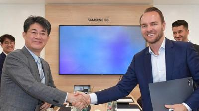 삼성SDI 배터리, 유럽 전기상용차에 채택…獨 아카솔과 협력