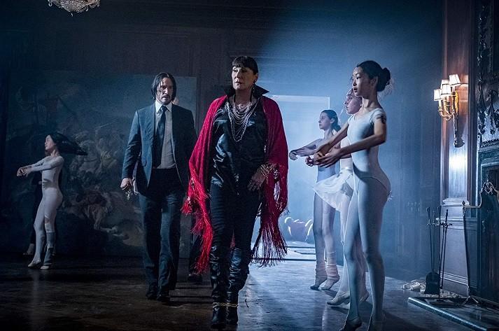 영화 '존 윅 3: 파라벨룸' 스틸 컷. (사진 = Niko Tavernise/Netflix)