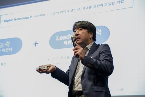 진코퍼레이션의 이창희 대표