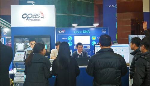 오파스넷,'Cisco Connect Korea 2019' 참가…SDA 네트워크 솔루션 전시