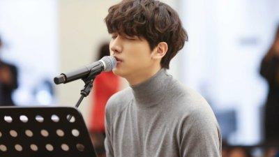 빅스 혁, 데뷔 첫 솔로 버스킹 깜짝진행…600여 관객과 '사계절 감성' 교류