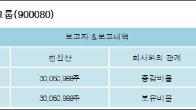 [ET투자뉴스][에스앤씨엔진그룹 지분 변동] 천진산 외 3명 24.28%p 증가, 24.28% 보유