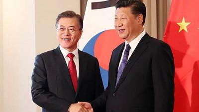 """문 대통령, 23일 베이징서 시진핑 주석과 정상회담…""""한중관계 발전·한반도 정세 논의"""""""