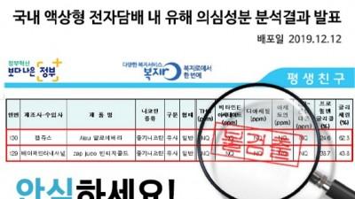 액상 전자담배 논란, '잽쥬스' 기체 성분 검사 결과 '불검출 발표'