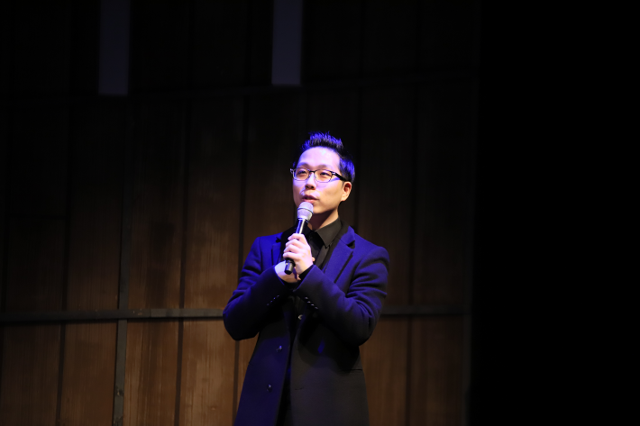 '아트톡(Art talk)' 김찬용 도슨트 / 인터파크 홍보팀 제공