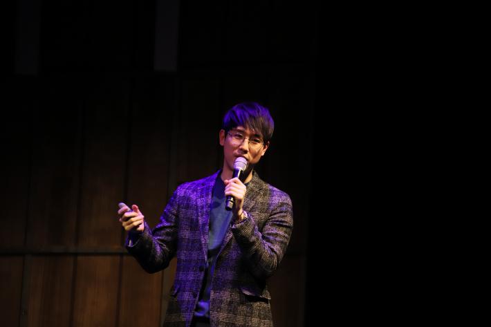 '아트톡(Art talk)' 정우철 도슨트 / 인터파크 홍보팀 제공